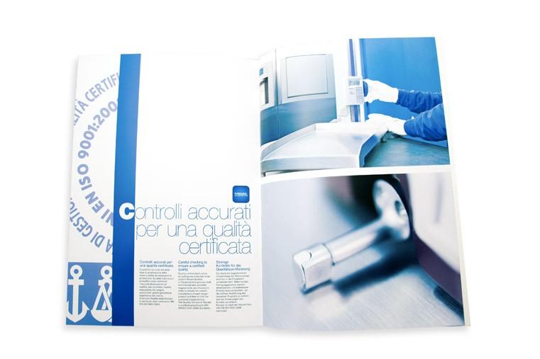 Famoso Brochure di presentazione dei servizi: Fotografia, Grafica  ZB81